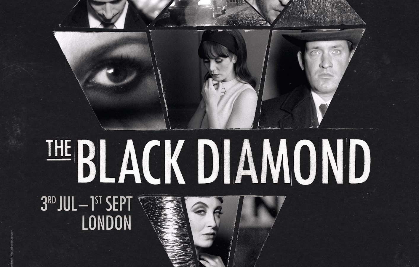 The Black Diamond show poster